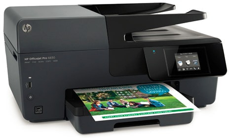 日本 HP、ビジネス向けにジェスチャー対応のタッチスクリーン付きインクジェットプリンタ