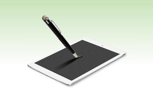 「タッチペン」ならぬ「タッチ筆」、ナカバヤシ子会社が発売--なめらかな操作感