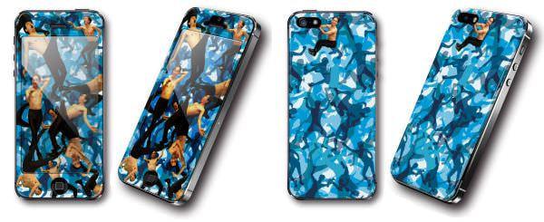 エガPhone 迷彩柄の EGA250 camouflage