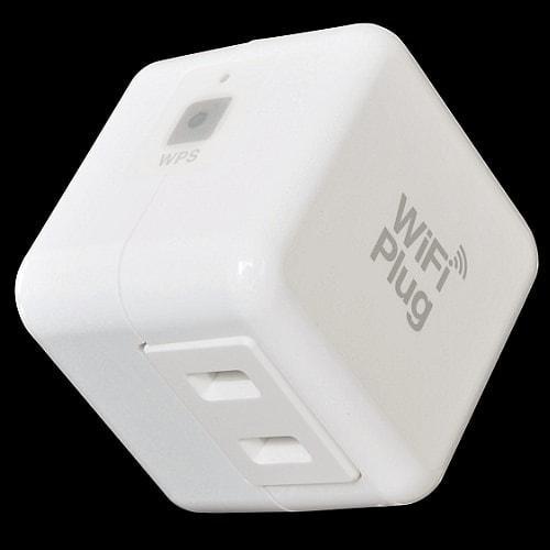 世界最小 Wi-Fi 対応の電源プラグ!電気使用量を無線で見える化