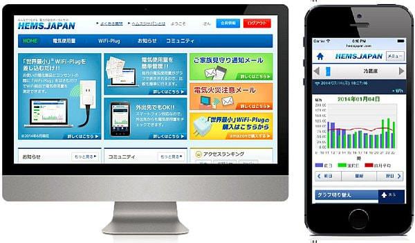 PC とスマートフォンによる会員サイトの利用イメージ