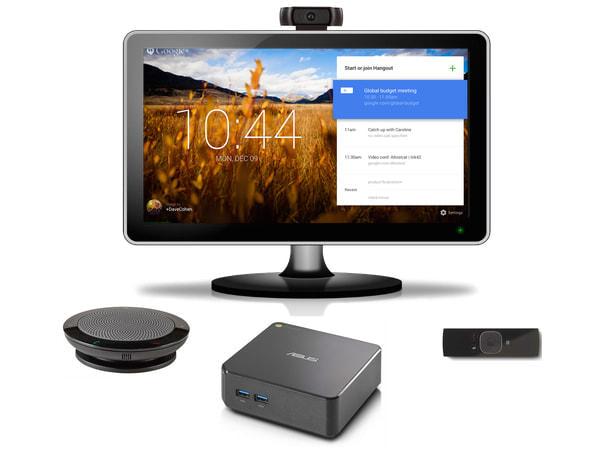 Google、小型 PC「Chromebox」使ったビデオ会議システムを日本で発売--15万円