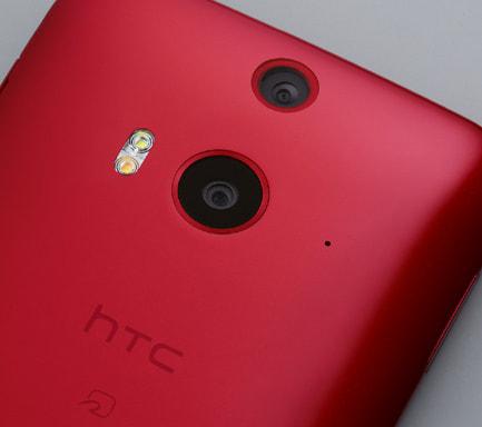 「HTC J butterfly」--人間の目のように2つのレンズで奥行きを検知するスマホ