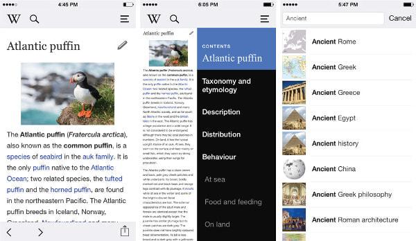 Wikipedia、iPhone アプリから編集が可能に