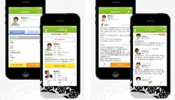 iOS 版アプリケーションの画面例