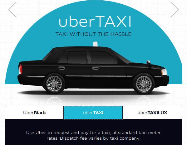 Uber、スマホで現在地にタクシーを即呼べる配車サービスを都内で開始--高級車に限定した上位版も