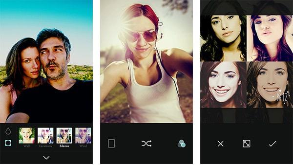 """LINE、""""自撮り専用""""カメラ アプリ「B612」の iOS 版をリリース"""