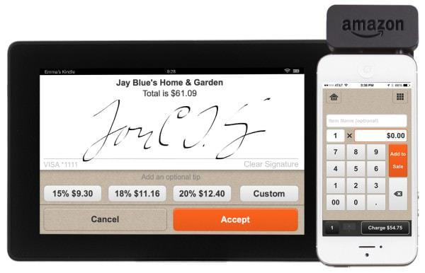 Amazon.com がモバイル カード決済「Amazon Local Register」開始、手数料の安さが強み