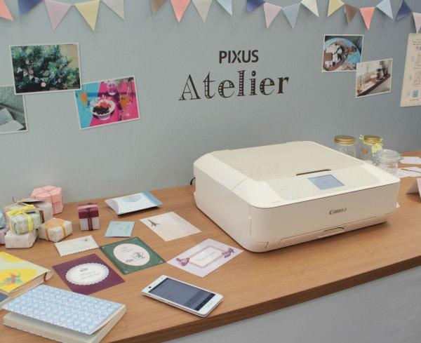 「お家のアトリエのようなプリンタ」を目指す PIXUS Atelier MG7530F