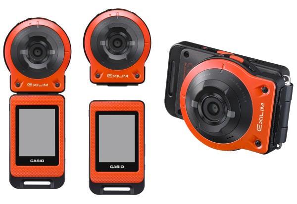 カシオ、カメラと画面が分離する新発想デジカメ「EX-FR10」