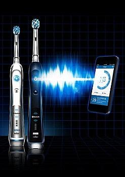 世界初、Bluetooth 搭載の電動歯ブラシをブラウンが発売--ガイド機能で磨き残しを防止