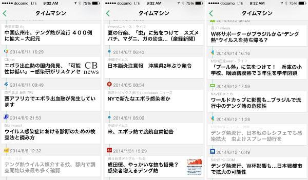 デング熱、7月からすでに予兆--ニュースアプリ「カメリオ」が過去の報道を分析し指摘