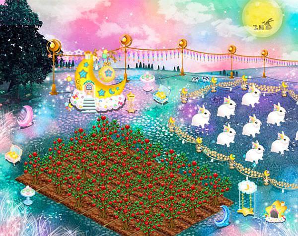 ソーシャルゲームにも秋、「農場パラダイス+」で秋の「お月見会」