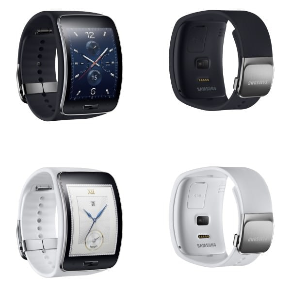 Samsung、単体で 3G 通話/通信可能なスマートウォッチ「Gear S」を10月発売