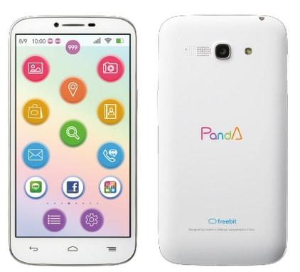 デバイスをコンコンとノック、 freebit mobile が PandA のアプリを大幅アップデート!