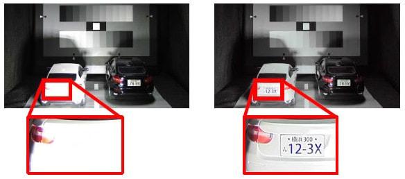 日立、白とびを瞬時に補正するカメラ撮像技術を開発