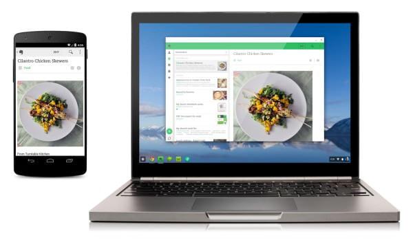 Chromebook で Android アプリが動く