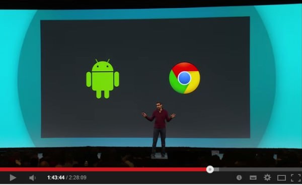 Android デバイスと Chromebook をシームレスに (出典:Google)