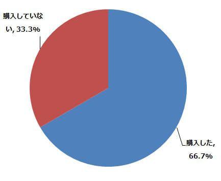 バーチャル試着システムを利用したあとに、実際に商品を購入しましたか? (n=21) (2014年9月8日〜9月19日/全国10代〜60代以上のインターネットユーザー1,080人)