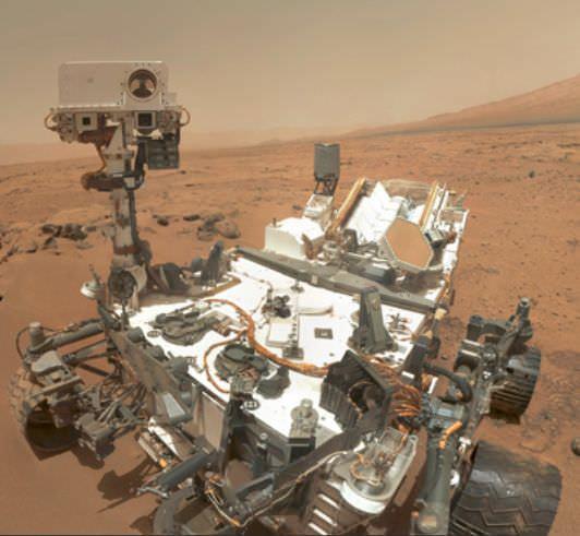 火星探査機「キュリオシティ」 提供:NASA