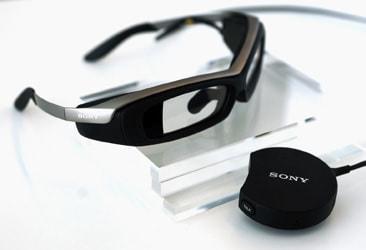 ソニー、電脳メガネ「SmartEyeglass」公開--Google Glass 対抗?