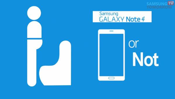 サムスン、無用のキャンペーン--「GALAXY Note 4はポケットに入れても曲がらず」