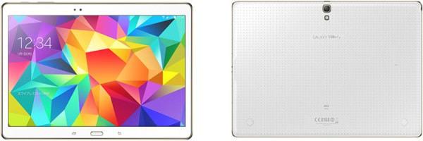 KDDI が CA/WiMAX 2+ 対応10.5型タブレット「GALAXY Tab S SCT21」、ドコモは8.4型「GALAXY Tab S」