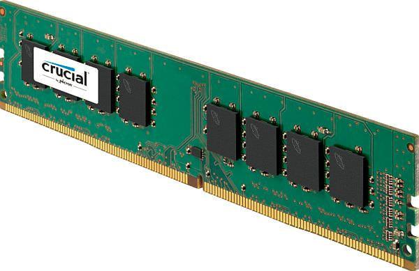「Crucial DDR4デスクトップメモリ」