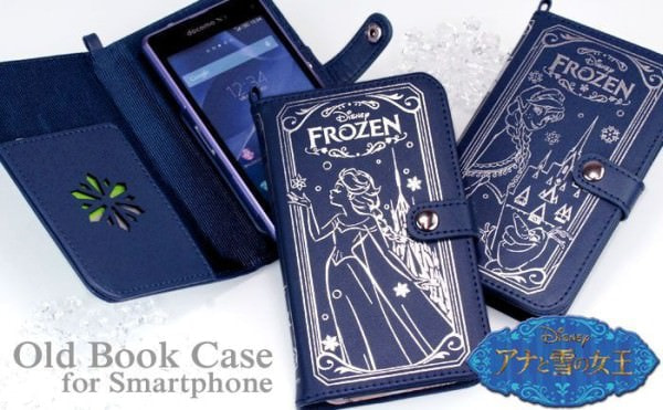 手帳型スマホ ケースにディズニー「アナ雪」「プリンセス」登場、iPhone 6 にも使える