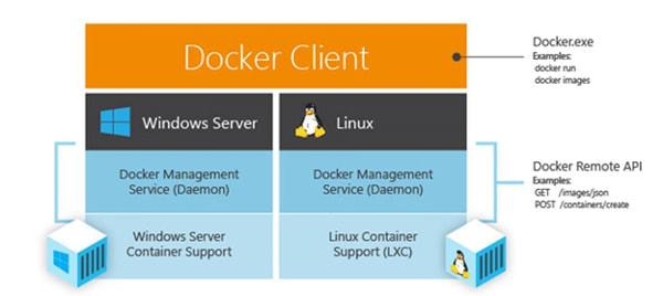 Windows は Docker クライアントにネイティブ対応する