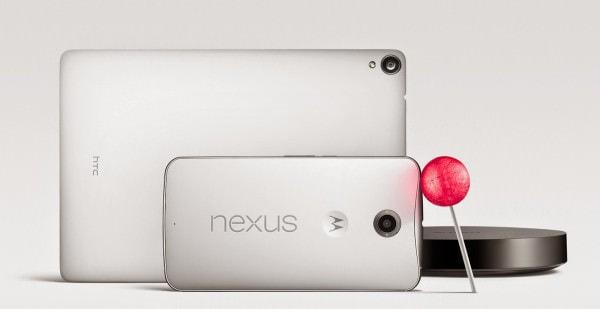 Google、次期 OS「Android Lollipop」搭載スマホ「Nexus 6」、タブレット「Nexus 9」発表