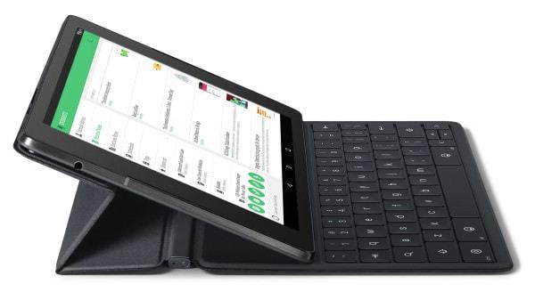 Nexus 9 がノートパソコン風になるキーボード