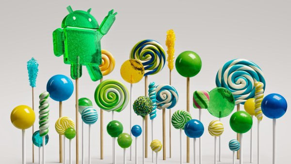 Android 5.0 Lollipop のイメージ キャラクタ