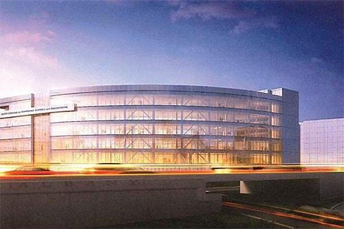 ZEN ビルの完成予想図