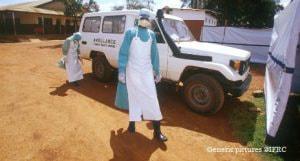寄付は各国の赤十字社と国際赤十字のエボラ治療・対策活動資金に(出典:日本赤十字社)
