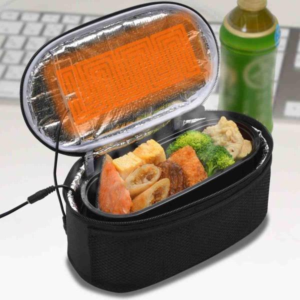 USB ヒーター内蔵で弁当を温める「USB電熱保温弁当箱ポーチ」