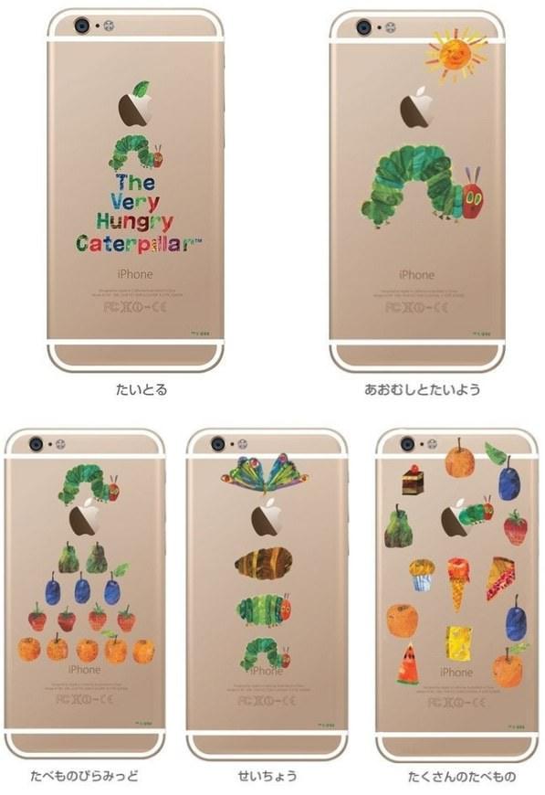 """リンゴから""""あおむし""""がこんにちは、iPhone 6/6 Plus 用「はらぺこあおむしケース」"""