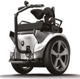 セグウェイで動く車椅子型モビリティ Genny 2.0、つくばで実験開始