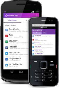 Facebook、通信料なしでネットが使える Internet.org アプリを発表