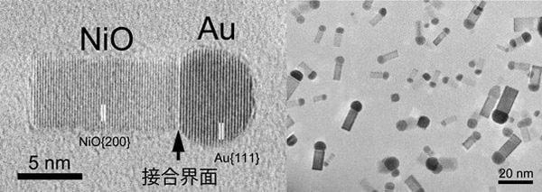 産総研、貴金属と酸化物が接合したナノ粒子の生成法を開発