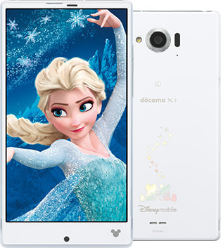 ドコモ、「アナ雪」コンテンツが楽しめるディズニースマホ「Disney Mobile on docomo SH-02G」11月20日発売