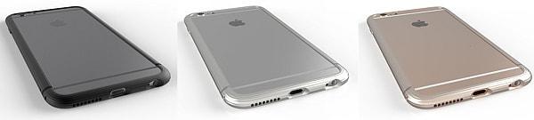 曲がると噂の iPhone 6 Plus でも安心!3万円のジュラルミン製バンパー