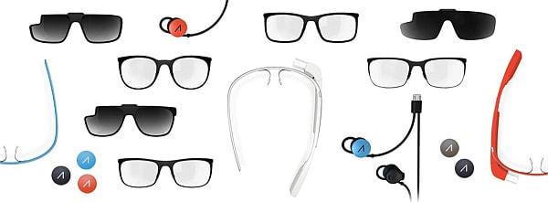 実証実験に利用される Google Glass(出典:Google)