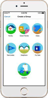 Facebook、グループ機能をまとめた単体アプリを発表