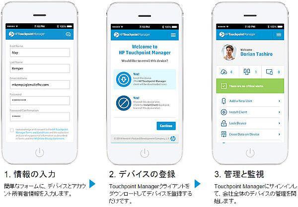 日本 HP が中小向けにユーザー単位月額課金のデバイス管理クラウドサービス、1ユーザー5デバイスまで