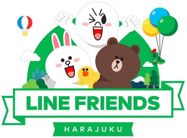 日本初の LINE 公式キャラクタ グッズショップ、原宿にオープン!