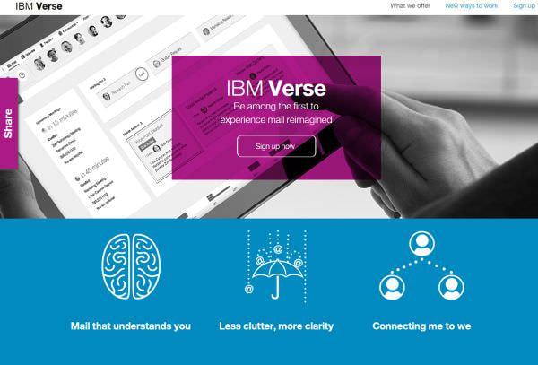 日本 IBM、ビジネスのコラボ手段をひとつに統合した Verse を発表