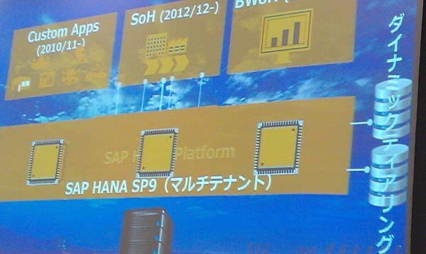 SAP ジャパン、単一システムでマルチテナントが稼働する HANA 最新版 SP9 を販売