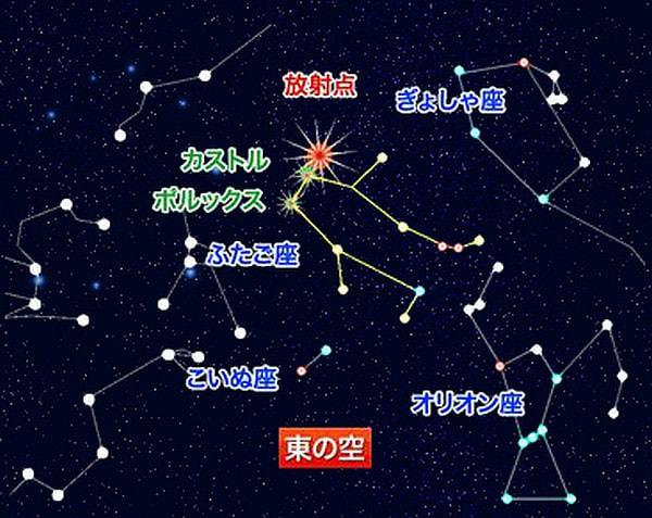12月14日は「ふたご座流星群」、ウェザーニューズが全国の天気傾向を発表