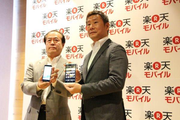 「楽天モバイル」、SIM フリー端末「AQUOS SH-M01」「Ascend Mate 7」を追加、渋谷の「楽天カフェ」で展示/契約受付